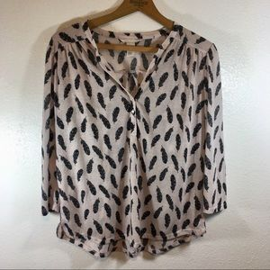 H&M Feather Top